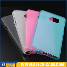 Soft jelly back cover tpu case for samsung galaxy note 5