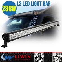 "Factory directly sale 50"" led light bar Auto car cheap off road led light bar LW LBL 288W for SUV 4WD bus light auto car led"
