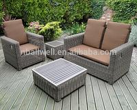 AWRF9600A New design miami rattan wicker garden sofas furniture from outdoor furniture china supplier