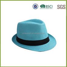 Custom wide brim Fedora Hats/Wool Fedora