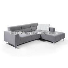 Small Corner Sofa for Living Room, Modern Fabric Corner Sofa