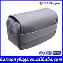 Latest design light grey travel mens toiletry bag