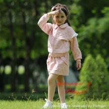 Niños traje de invierno de algodón burbuja espuma Floral vía láctea plisada hoja Collar niños ropa Set trajes de CS80727-5F