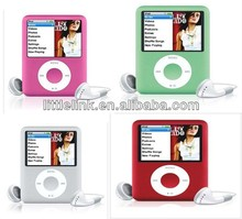 "4GB 8GB 16GB Slim 3th Mp3 Mp4 Player 1.8""LCD Screen FM Radio Video Games & Movie (MP401)"