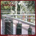 barandas y barandilla para terrazas con pasamanos de hierro