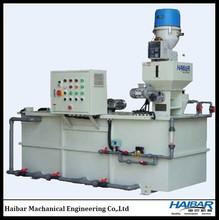 Chemical powder feeding automatic dosing unit