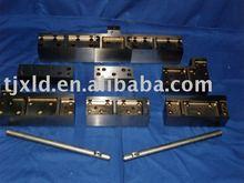 de metal del cnc de mecanizado de piezas de latón mecanizado de piezas