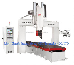 Good Feedback!! China 5 Axis Thermocol CNC Router Machine Price