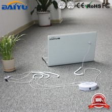 Multifunctional ABS plastic security laptop display stand with alarm