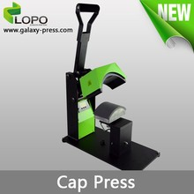 high quality Pluto Cap Heat Press Machine from Lopo for different size of caps