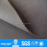stretch polyester polar fleece adhesive fabric for jacket