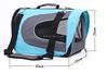 Eco-friendly foldable dog travel bag pet carrier dog bag