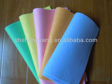 Needle-punched Germany nonwoven cleaning cloth &wipe/(viscose/polyester) microfiber cleaning cloth/househould cleaning rags