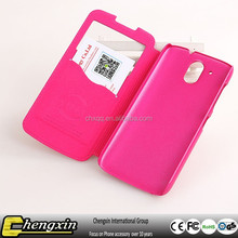Wholesale motomo universal leather flip cover case for smartphone factory sale in stock