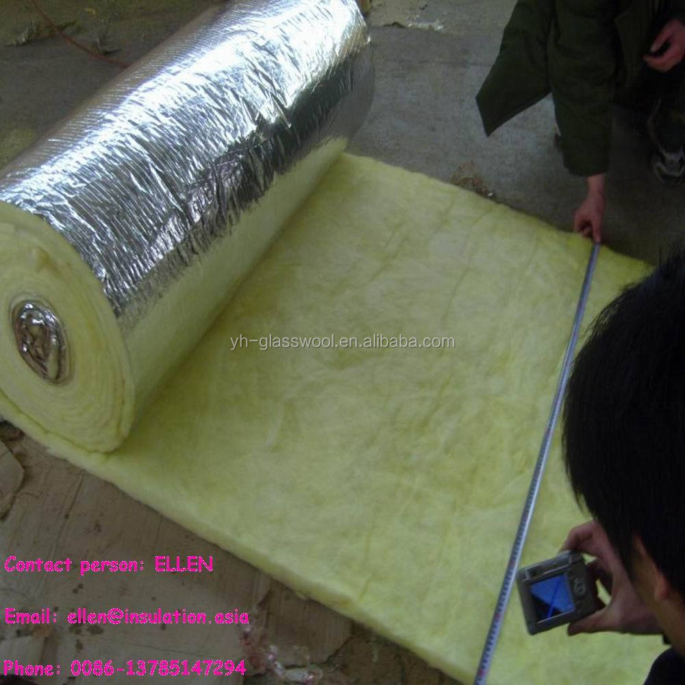 Fiberglass insulation duct wrap batt low density glass for Fiberglass wool insulation