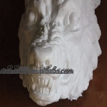 SZ-061 Yiwu Caddy Cast Resin Were wolf Wolf Mask based on original sculpt DIY