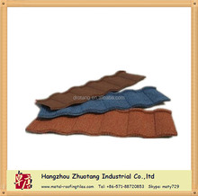 Unfading Color Coated Wave/ Roman Metal Roofing Tile With Low Price
