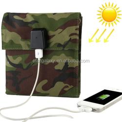 10W Portable Folding Solar Panel / Solar Charger Bag for Laptops / Mobile Phones