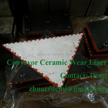 Conveyor Ceramic Wear Liner- Crushing and Mining Equipment