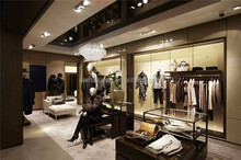 High End Customized Store Fixtures Design Clothes Shop Furniture