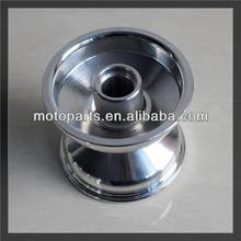 """5"""" pollici cerchi per go kart, cerchi ruota anteriore lunghezza 130mm l'installazione foro 35mm cerchio tubeless"""