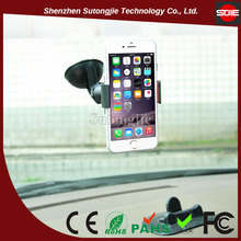 Clip Small Car Holder With Sticky Suction Cup