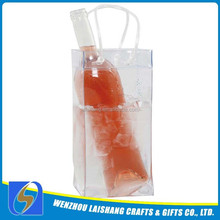 2014 Reusable PVC wine ice packs bag factory wholesale