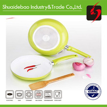induction fry pan 18 cm 2 side surface for cooking