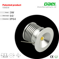 2015 hot high quality IP65 round 3w mini decorations led wall washer Lights wholesale