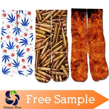 all over print basketball custom sublimation sock