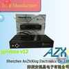 internet tv receiver mpeg-4 satellite finder meter JynxBox Ultra HD V12