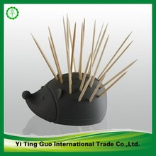 Bamboo double points umbrella cocktail toothpicks