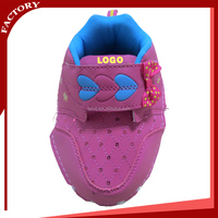girl's bling bling princess shoes upper Convenient leather shoes vamp for kids