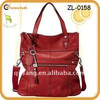 Fashion Women Genuine Leather Folder Handbag in Guangzhou