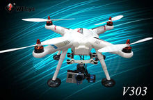 2014 Newest WL Toys GPS Control Quadcopter V303 SEEKER Quadrocopter with 4 brushless motor RC Quadcopter can add Gopro camera