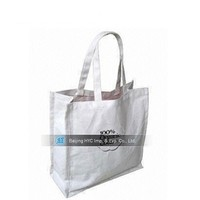 Factory OEM production advertising custom printed blank canvas bags