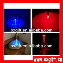 Oxgift sensor de temperatura rgb led resplandor de luz( 3 colores) del grifo para/grifo