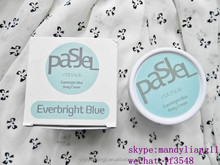 Hot Selling Thailand Pasjel Everbright Blue Body Message Cream Whitening