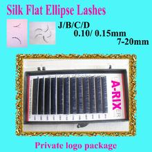 2015 New product launch in China wholesale FLAT ELLIPSE wholesale eyelash extension 1031