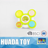 Hot baby toy/cartoon hot sale drum set/plastic toy music instrument drum