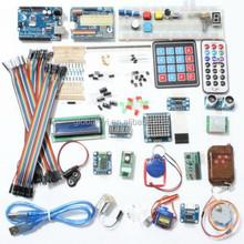 Deluxe Uno R3 Basic Kit Starter Learning Kit For Arduin
