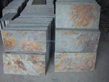 rusty green slate tiles