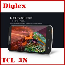 Cheap Android 4.4 Phone 4G LTE TCL 3N M2U 2GB+16GB MTK6752 Octa Core Dual sim Google Play 5.0MP+13.0MP Cameras smartphones