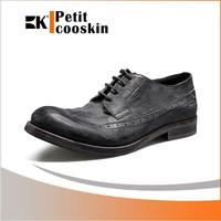 New design dress men leather casual shoes cheap wholesale shoe