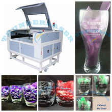 China Supply Auto Focus CO2 Laser Tube Engraving Machine for Glass