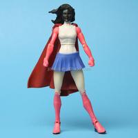 Cartoon girl action figure toy,Plastic girl hot toy action figure,Custom plastic toy action figure