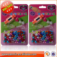 newest watch bracelet of different colorful designed beads for kids DIY