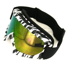 BJ-MG-001A Zebra clear transition riding glasses for motorcycle