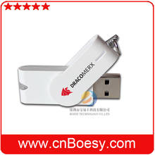 Plastic twister USB flash drive with 1GB to 32GB memory capacitis.