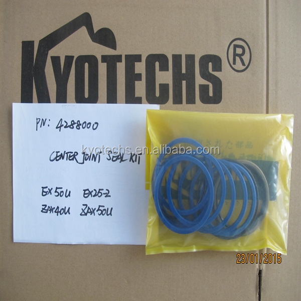 EXCAVATOR CENTER JOINT SEAL KIT FOR 4288000 EX50U EX25-2 ZAX40U ZAX50U .jpg